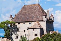 Vieille construction historique Château de Yvoire france Photographie stock libre de droits