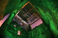 Vieille construction industrielle abandonnée Photo stock