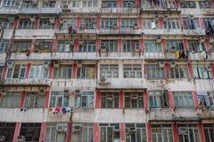 Vieille construction résidentielle photographie stock