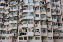 Vieille construction résidentielle photo stock