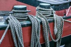 Vieille corde 2 Photos stock