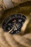 vieille corde de compas photographie stock