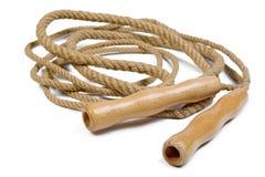 Vieille corde de saut Images stock
