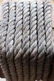 Vieille corde pour le fond Photos libres de droits