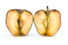 Vieille coupe Apple Images libres de droits