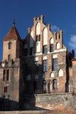 Vieille cour de citoyen à Torun Photos libres de droits