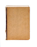 Vieille couverture de carnet Photo stock