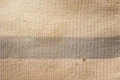 Vieille couverture de coton Photographie stock libre de droits