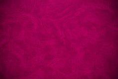 Vieille couverture de livre violette Photographie stock libre de droits