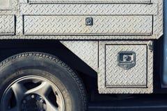 Vieille couverture de service en acier extérieure avec l'électrodéposition de diamant Images libres de droits