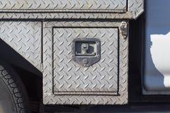 Vieille couverture de service en acier extérieure avec l'électrodéposition de diamant Image stock
