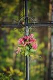 Vieille croix Photographie stock