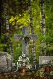 Vieille croix Images stock