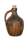 Vieille cruche de vin Photo stock