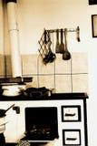 Vieille cuisine Photos stock