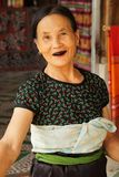 Vieille dame gaie photos libres de droits
