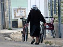 Vieille dame portugaise Photos libres de droits