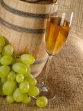 Vieille encore-durée de vin Image stock