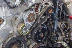 Vieille engine de véhicule Image stock