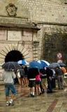 Vieille entrée de ville de Kotor photographie stock libre de droits
