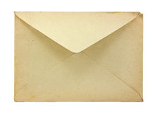 Vieille enveloppe Photo stock