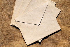 Vieille enveloppe Photos libres de droits