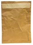 Vieille enveloppe brune Photo libre de droits