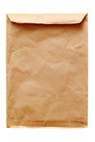Vieille enveloppe brune Photos libres de droits