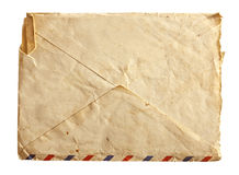 Vieille enveloppe d'air photographie stock