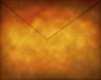 Vieille enveloppe de papier Image libre de droits