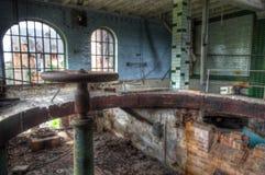 Vieille et abandonnée brasserie en Allemagne Photos libres de droits