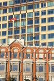 Vieille et nouvelle architecture d'Ottawa Photo stock