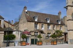 Vieille et pittoresque ville de Frances, de Beaune Images stock