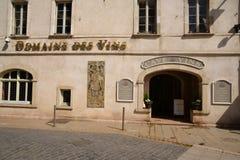 Vieille et pittoresque ville de Frances, de Beaune Images libres de droits