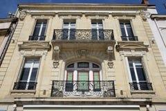 Vieille et pittoresque ville de Frances, de Beaune Photo stock