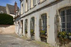 Vieille et pittoresque ville de Frances, de Beaune Photographie stock libre de droits