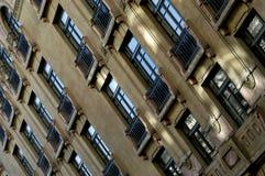 Vieille façade de construction Photographie stock libre de droits