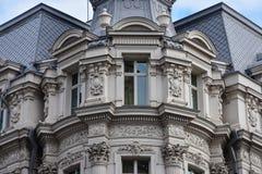 Vieille façade de construction Image libre de droits