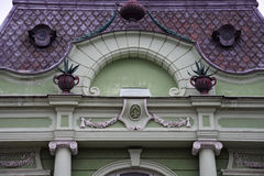 Vieille façade de construction Photos libres de droits