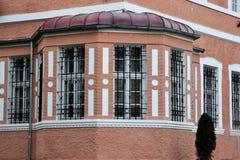 Vieille façade de maison Photographie stock