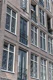Vieille façade néerlandaise de maison dans Hoorn image libre de droits