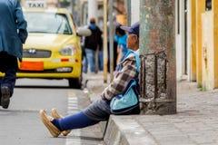 Vieille femme hispanique Photographie stock libre de droits