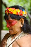 Vieille femme indienne Images libres de droits