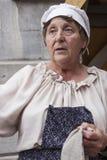 vieille femme rurale Photographie stock