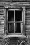 Vieille fenêtre cassée Photos libres de droits