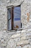 Vieille fenêtre dans Kamianets-Podilskiy Photo stock