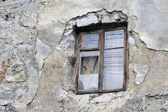 Vieille fenêtre dans Kamianets-Podilskiy 2 Photo stock