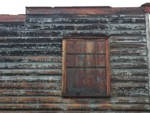 Vieille fenêtre de magasin Image libre de droits