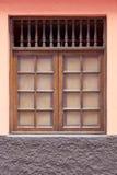 Vieille fenêtre historique Photos stock