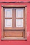 Vieille fenêtre historique Photographie stock